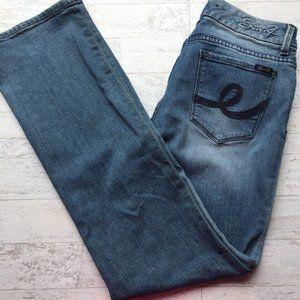 SEVEN7 Jeans Boot Cut Flare Leg 6 Women Denim Jean